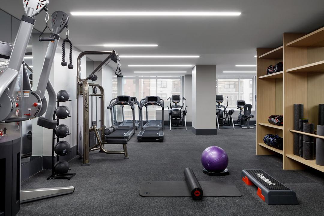 Fitness Room at 389 East 89th Street