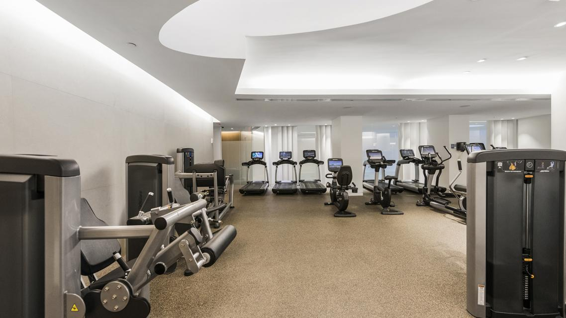 Fitness Room at 400 Park Avenue South