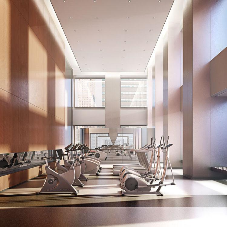Fitness Room- 432 Park Avenue