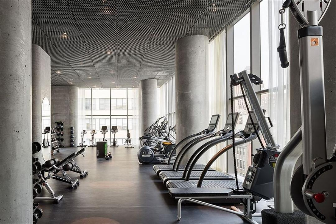 Fitness Room at 56 Leonard Street
