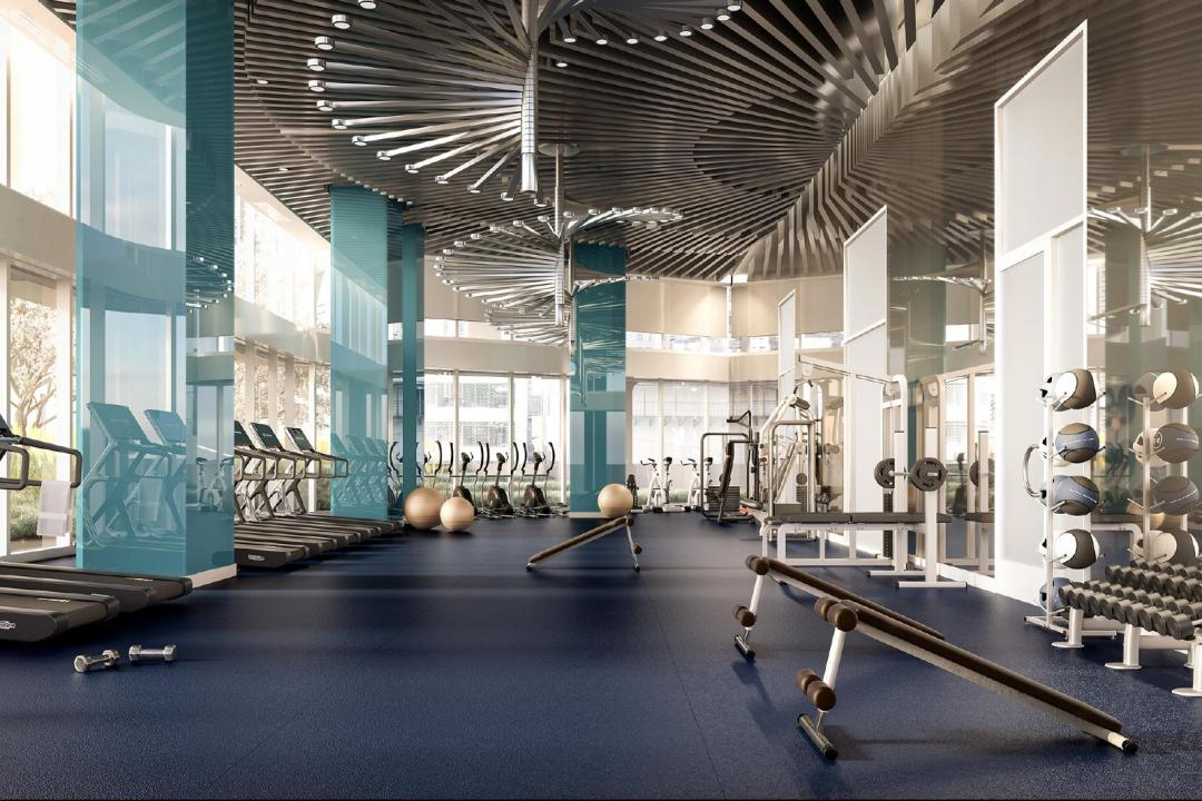 Fitness Room at Aro - 242 West 53rd Street
