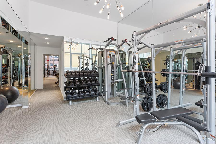 Fitness Room at Atelier - 635 West 42nd Street