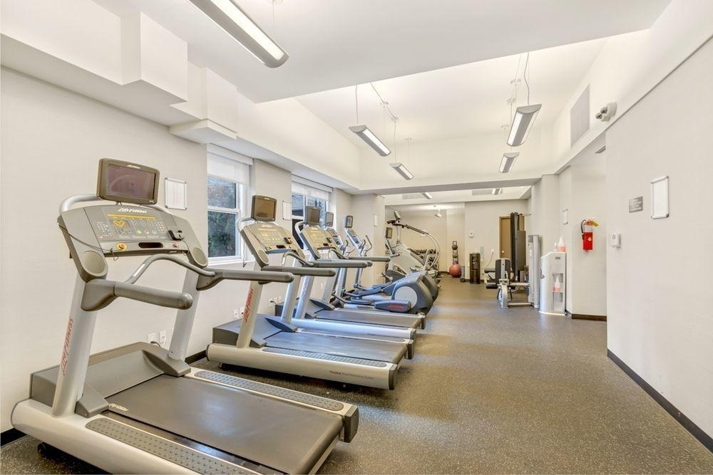 Fitness Room at Dorchester Towers - 155 West 68th Street