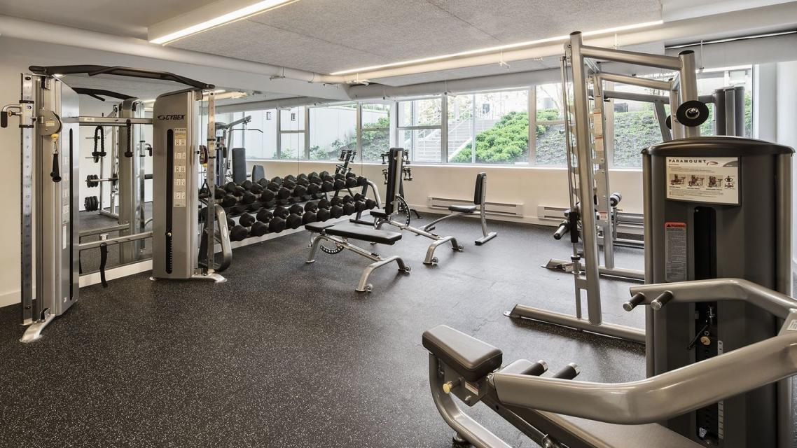 Fitness Room at Gateway Plaza - 395 South End Avenue