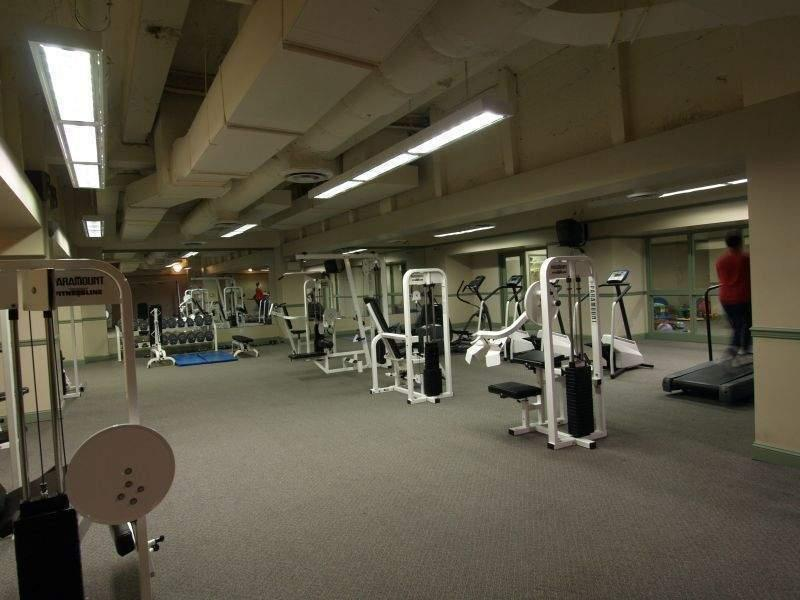 Fitness Room - Post Towers - 75 West Street - Manhattan Rentals