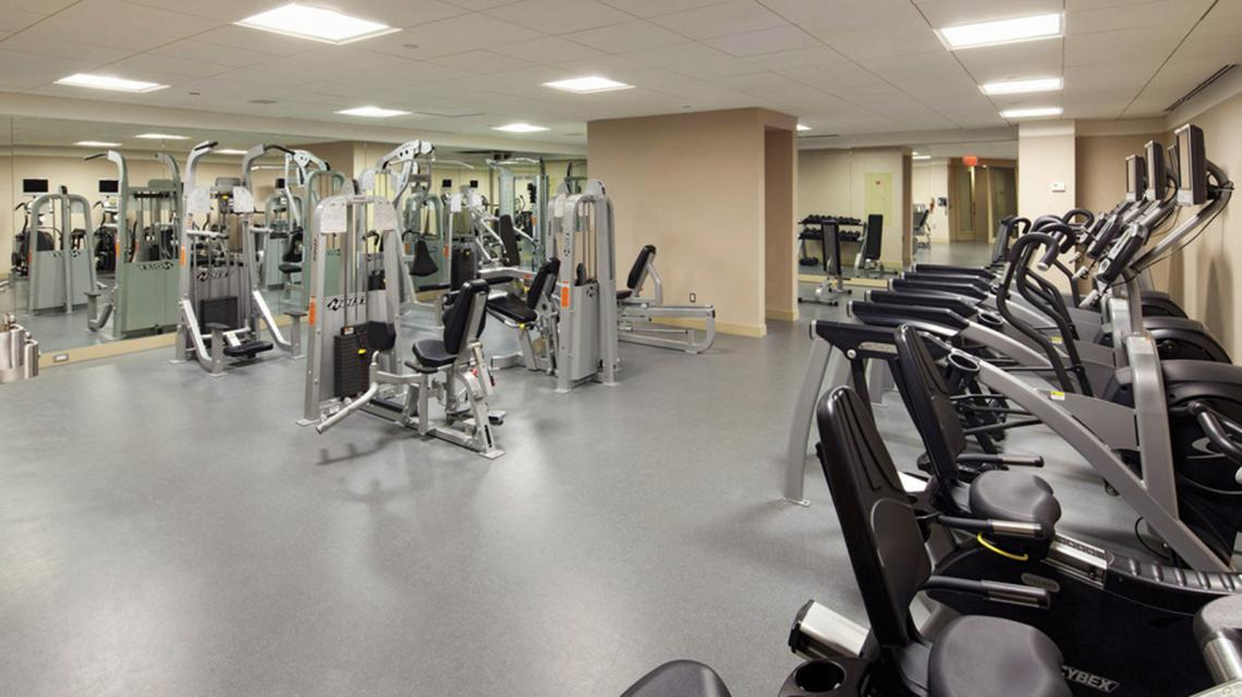 Fitness Room at The Centria - 18 West 48th Street