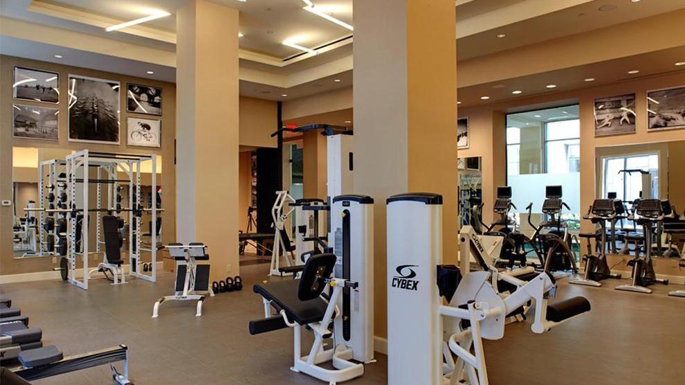 Fitness Room at The Rushmore - 80 Riverside Boulevard