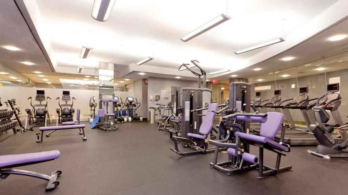 Fitness Room at Trump Place - 120 Riverside Boulevard