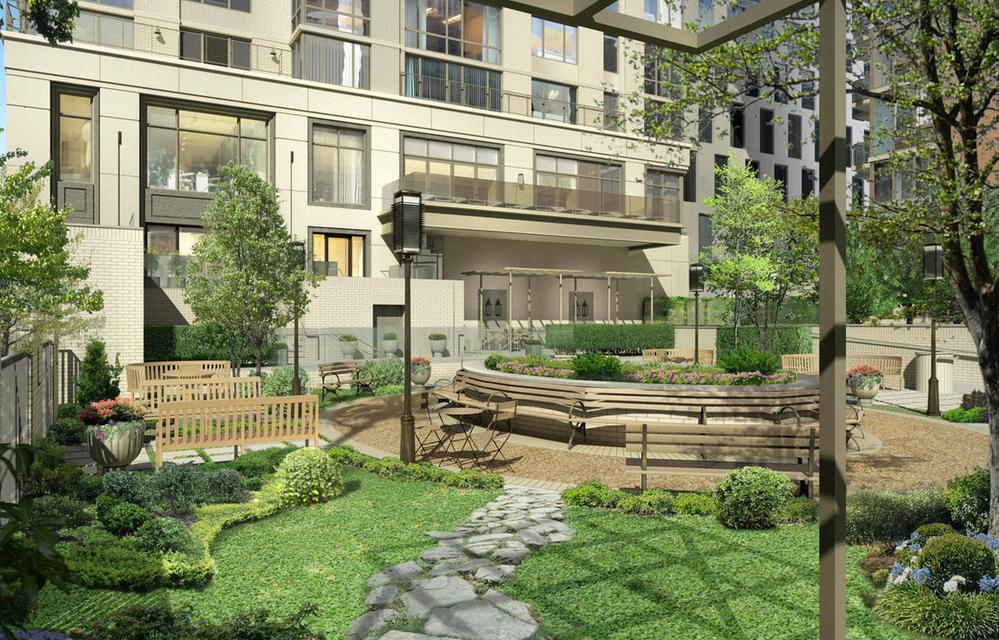 Garden- 160 West 62nd Street- condo for rent in Manhattan
