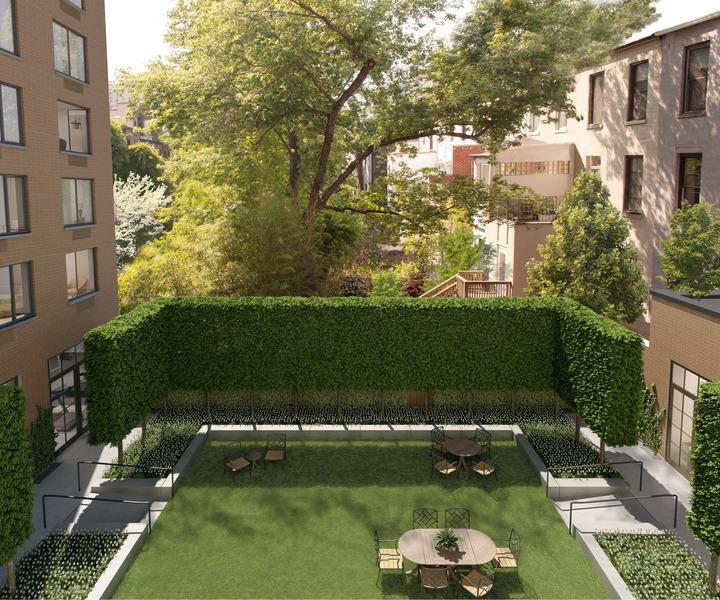 Garden- 101 West 87th Street- apartments for rent in nyc