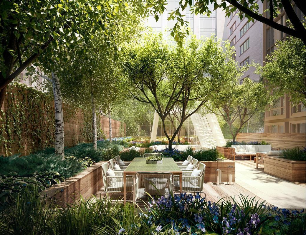 Garden at The Prewar at Gramercy Square - 225 East 19th Street