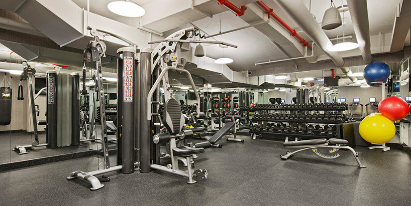 Contemporary Gym at the Nash