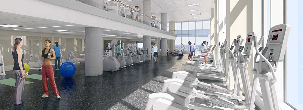 Gym at 43-10 Crescent Street - Luxury Rentals in LIC