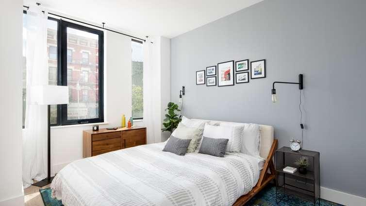Bedroom at Harlem 125 in NYC - Apartments for rent