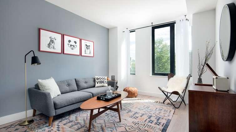 Rentals at 69 East 125th Street in Manhattan - Living Room