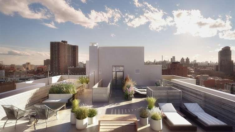 Rooftop Deck at Harlem 125 in Manhattan - Apartments for rent