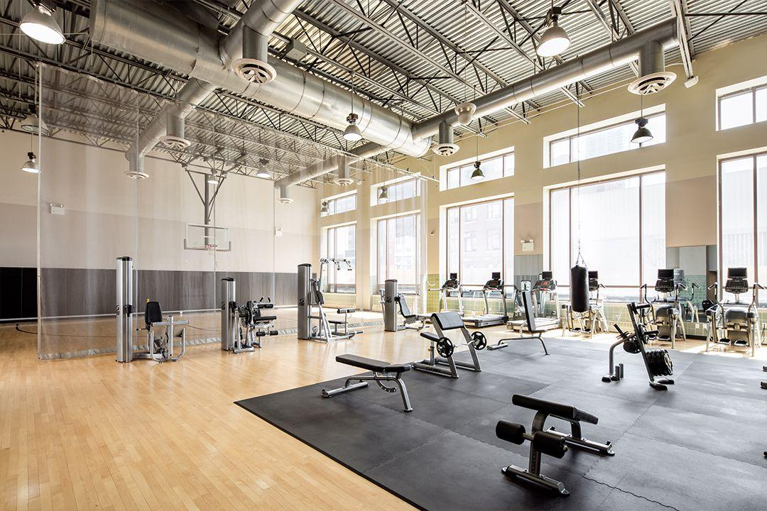 Fitness Center at The Helux in Clinton - Apartments for rent