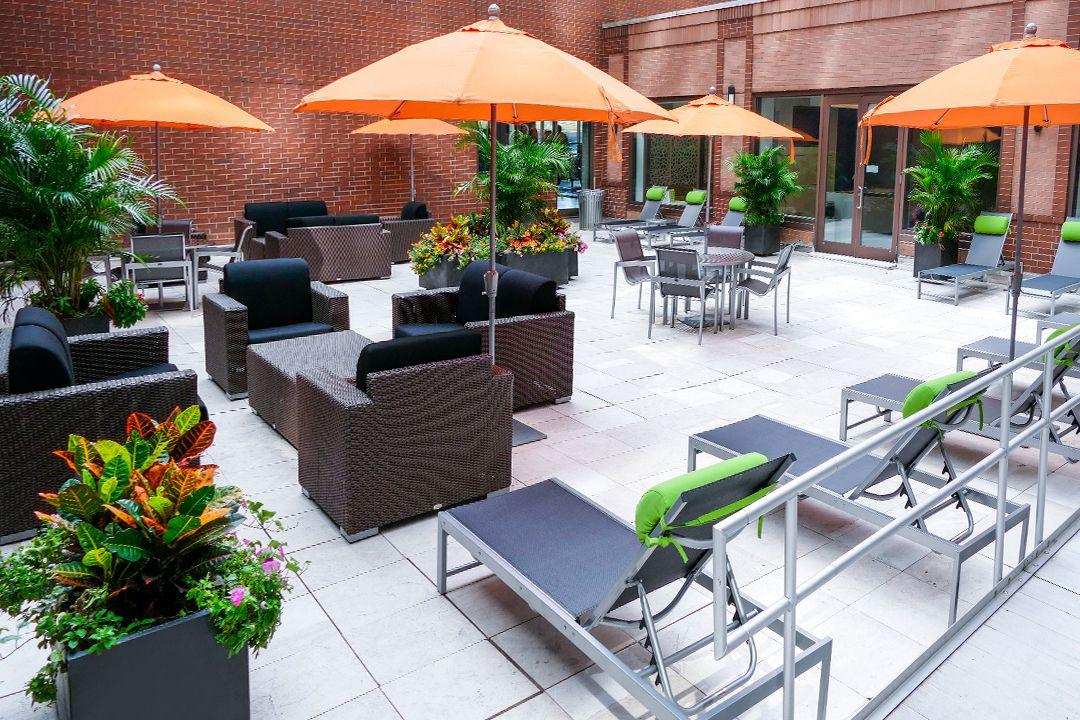 Rentals at The Helux in Manhattan - Terrace