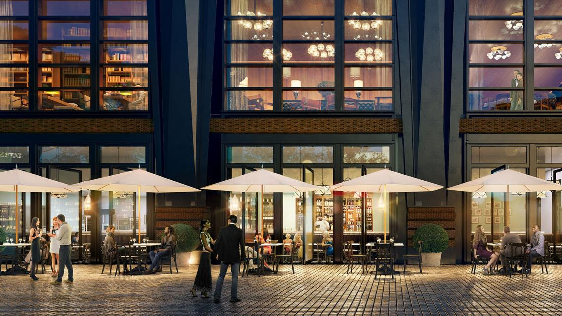 Rentals at Henry Hall in Hudson Yards - Restaurants
