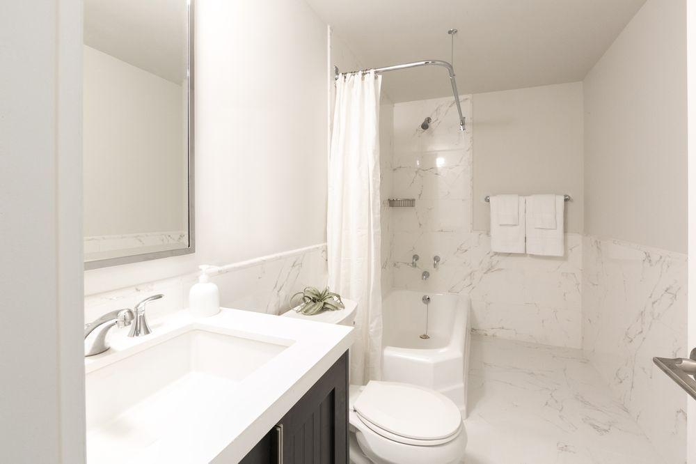 Bathroom at Herald Towers in NYC - Apartments for rent