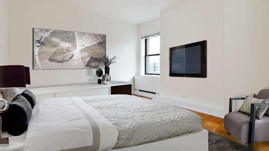 Bedroom at Herald Towers in NYC - Apartments for rent