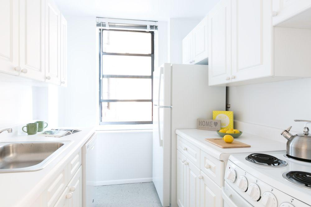 Kitchen at Herald Towers in NYC - Apartments for rent