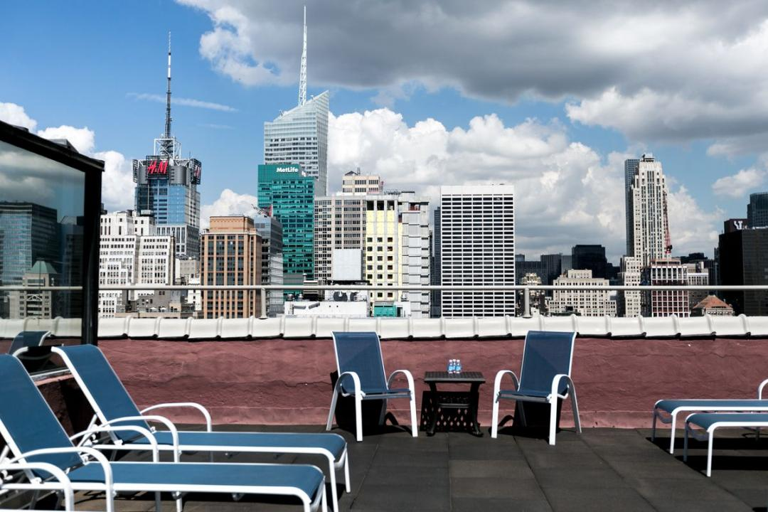 Rooftop at Herald Towers in NYC - Apartments for rent