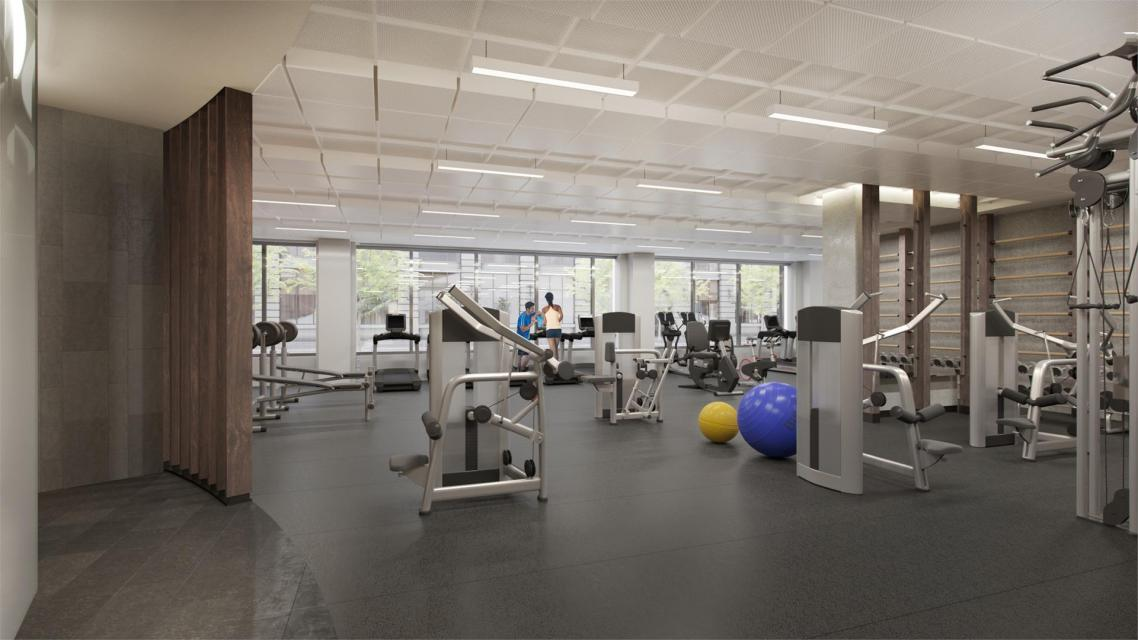 Apartments for rent at House 39 in NYC - Fitness Center
