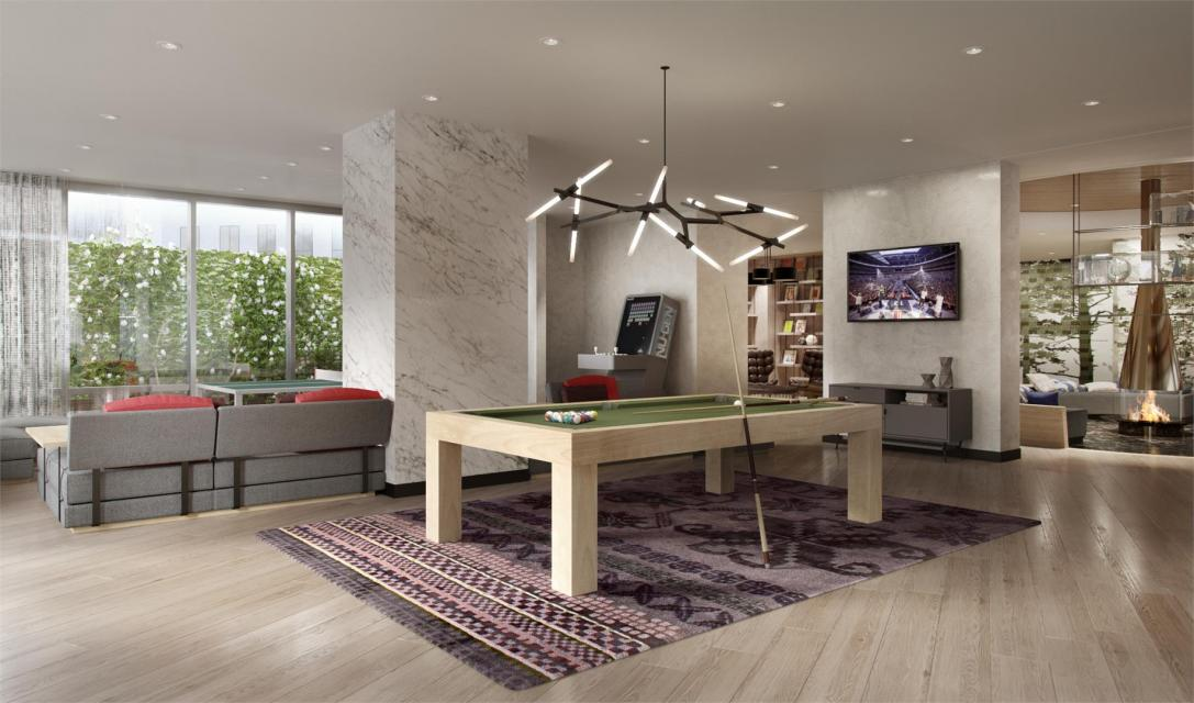 Rentals at 225 East 39th Street in Manhattan - Game Room