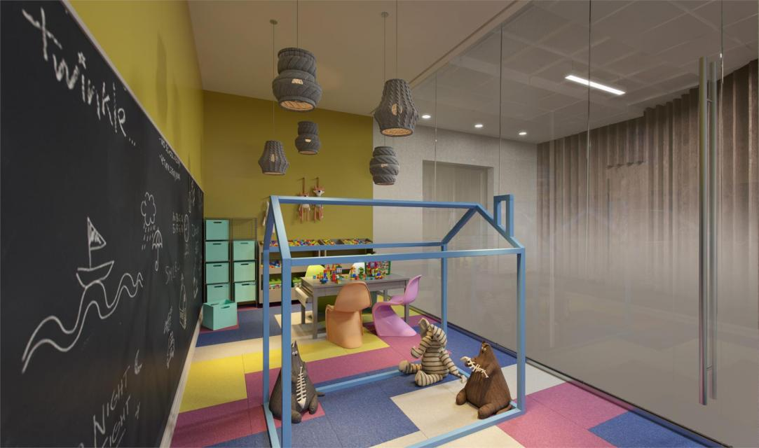 Rentals at 225 East 39th Street in Murray Hill - Children's playroom