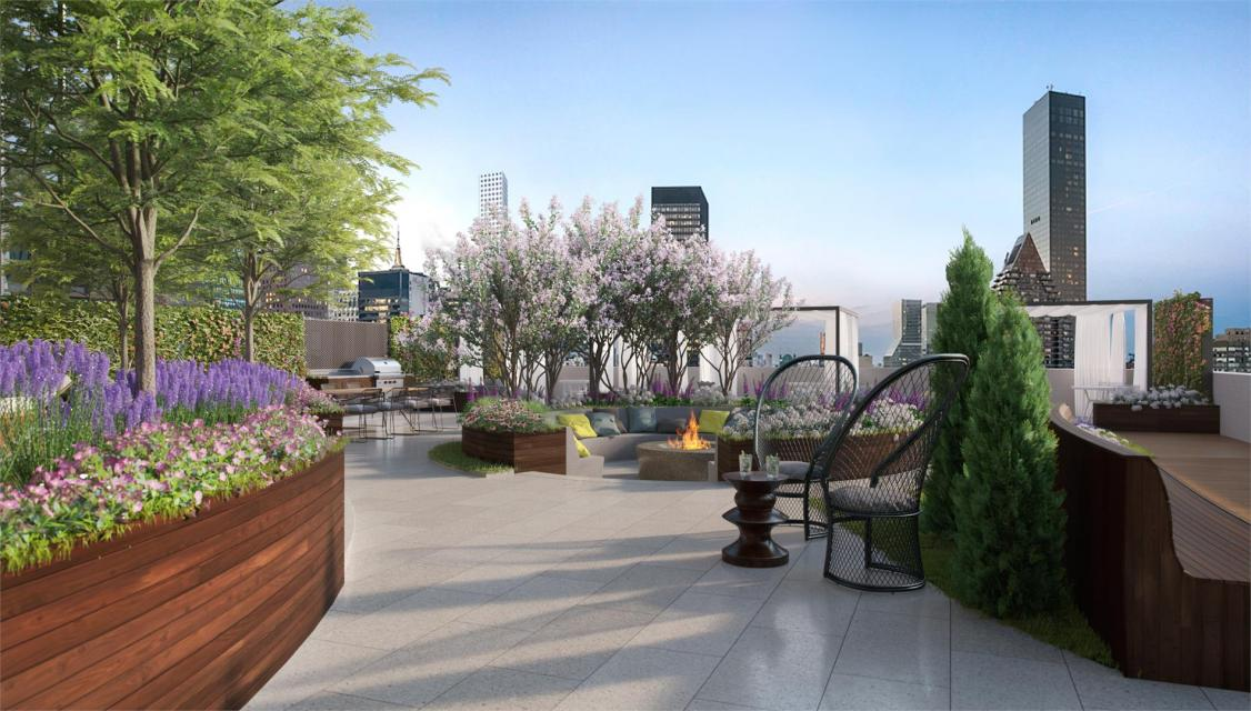 Rooftop Terrace at 225 East 39th Street in Murray Hill