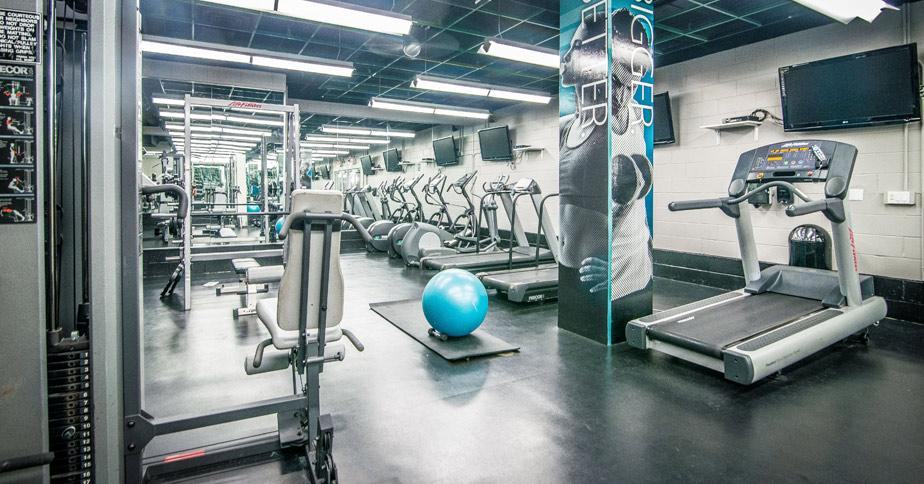 Wide variety of amenities at Hudson Crossing in NYC - Fitness Center