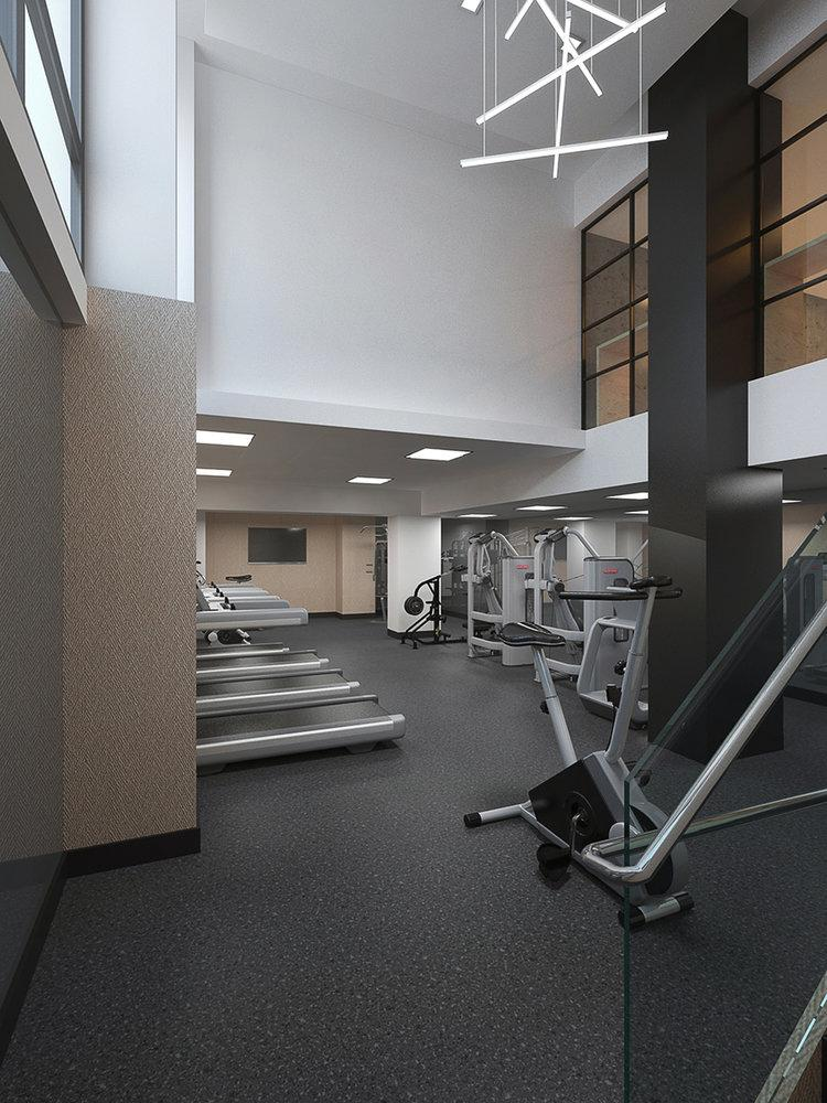 Rentals at Huis24 in Long Island City - Fitness Center