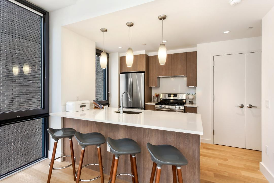 Open Kitchen at 41-22 24th Street in Manhattan - Apartments for rent