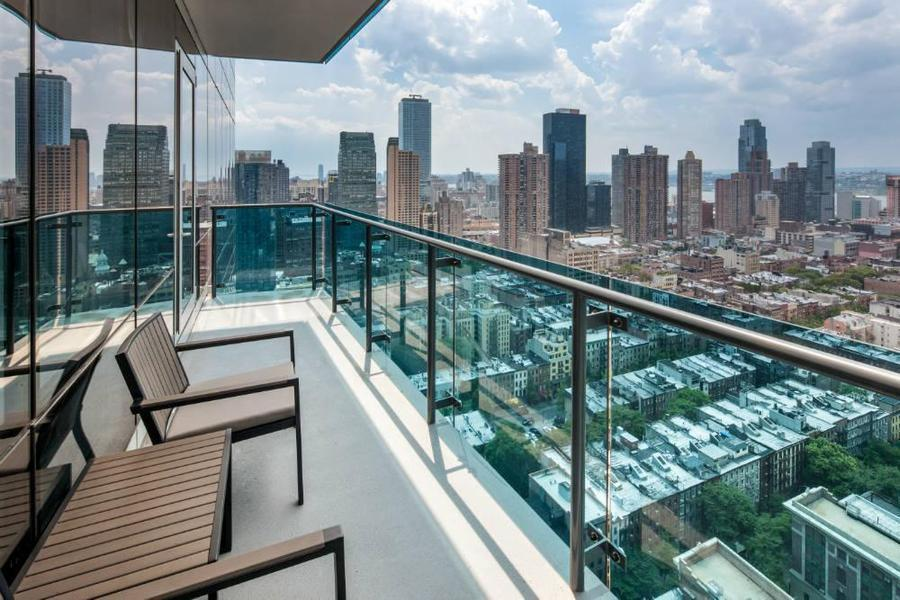 Balcony at Icon, 306 West 48th Street - Clinton Luxury Rentals