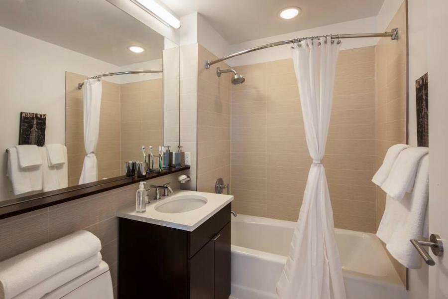 Bathroom at 306 West 48th Street - Clinton Luxury Rentals