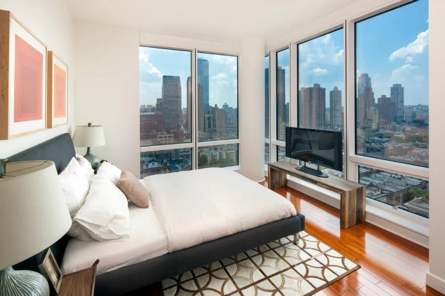 Bedroom at 306 West 48th Street, Luxury Rentals in Clinton, NYC