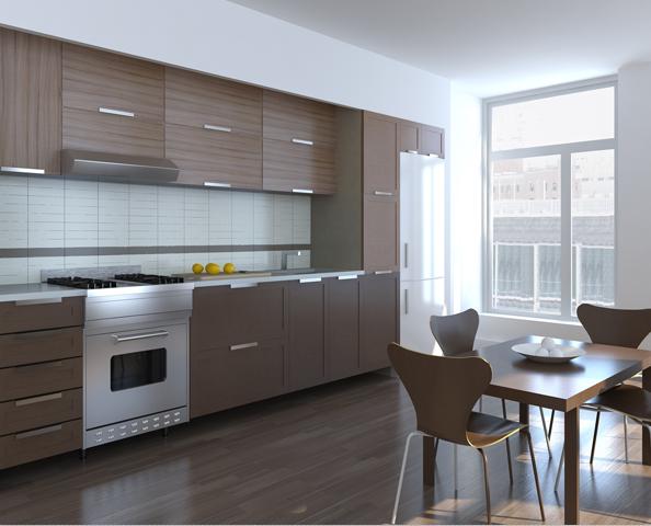 21 East 1st Street Kitchen - Manhattan Condominium