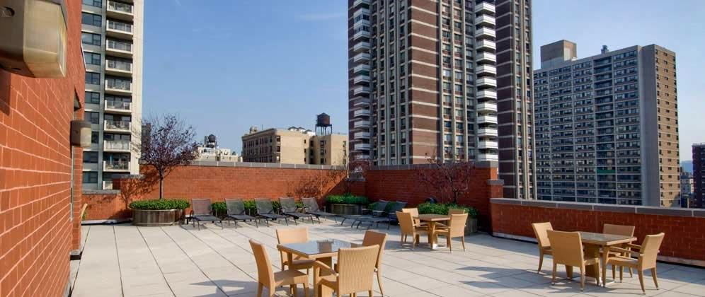 750 Columbus Avenue Roofdeck - NYC Rental Apartments