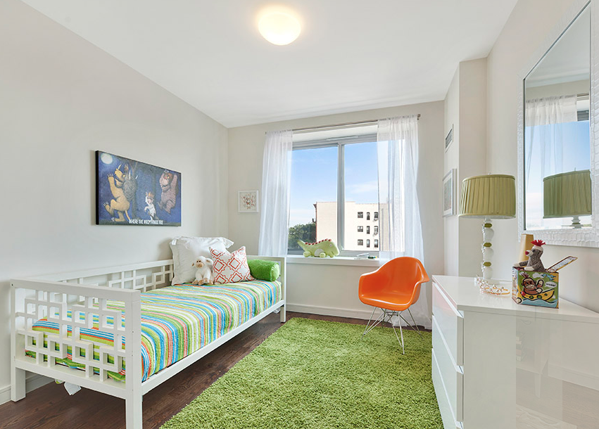 Kids bedroom- 1560 Fulton Street condo for rent in NYC