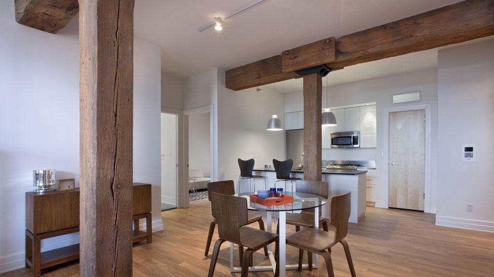 Dining Room- 25 Washington Street- NYC condo for sale