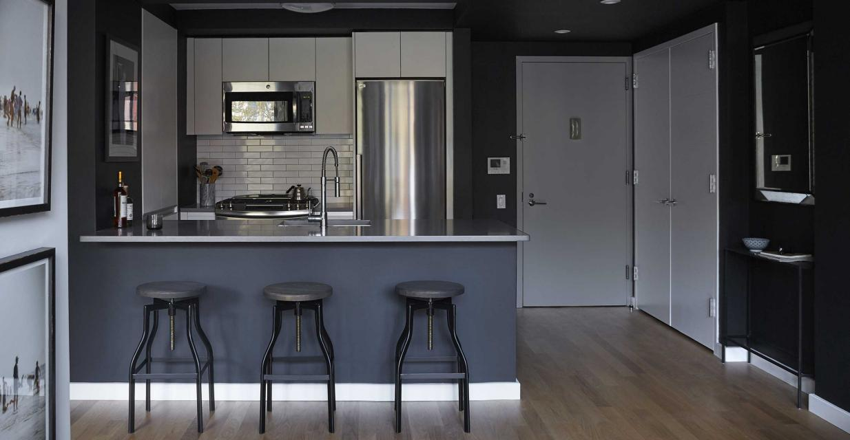 Open Kitchen at Jones L.E.S. in Manhattan - Apartments for rent