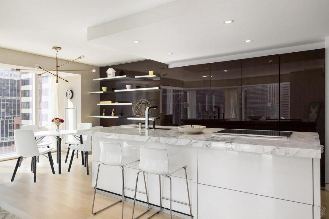 Kitchen at 135 West 52nd Street