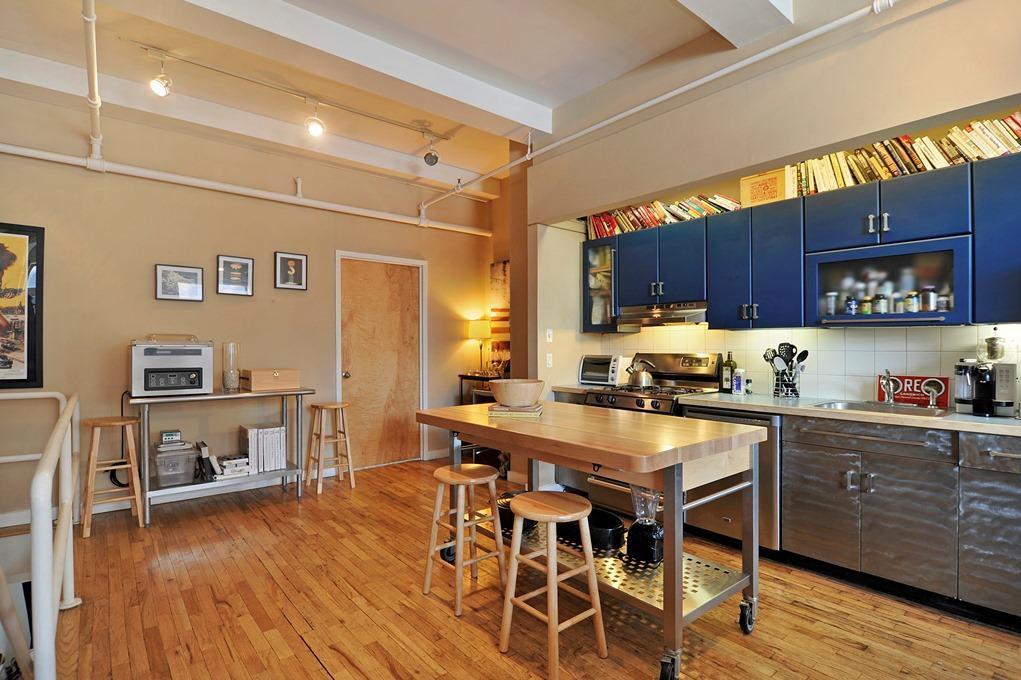 Kitchen in the Silk Building, Condo in Greenwich Village