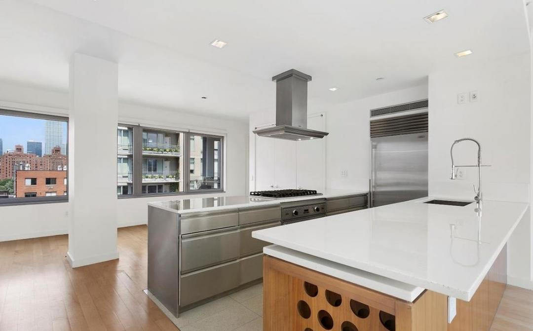 Kitchen at Chelsea Modern - 447 West 18th Street