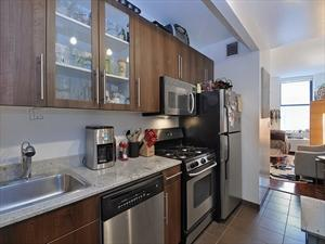 Kitchen - 1 Wall Street Rentals in NYC