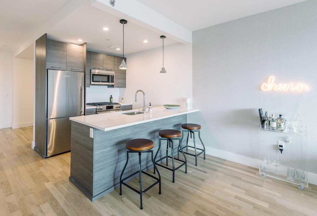 Kitchen at 241 Atlantic Avenue