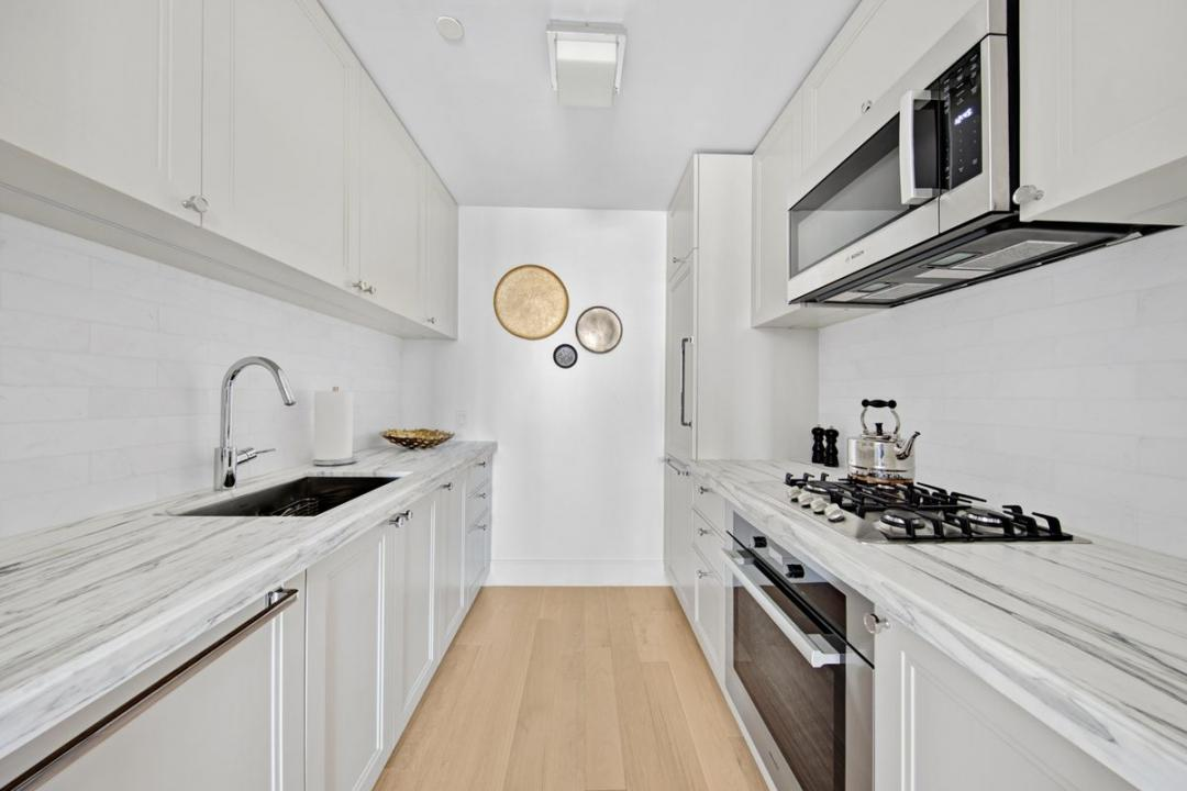 Kitchen at 389 East 89th Street