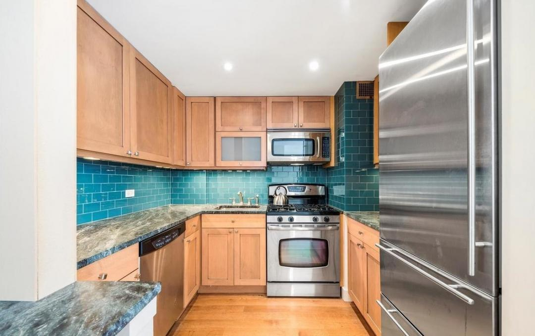 Kitchen at Dorchester Towers - 155 West 68th Street