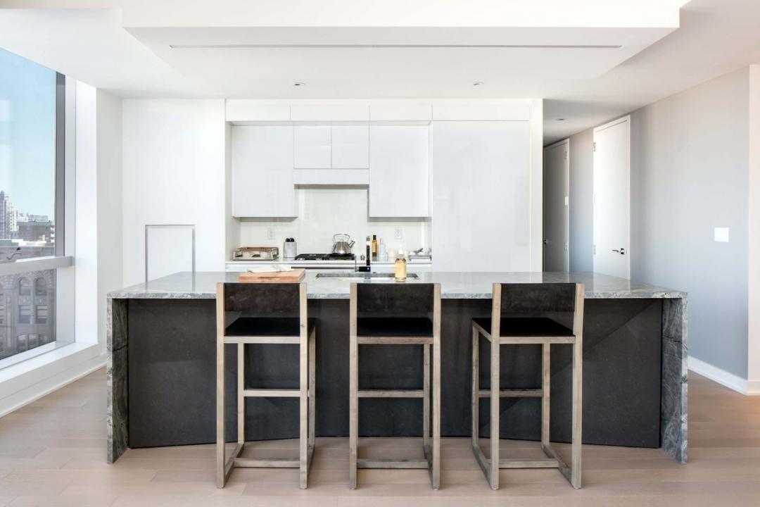 Kitchen at 400 Park Avenue South